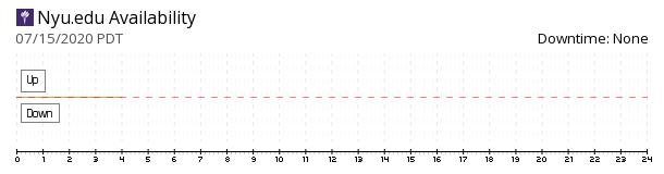 New York University availability chart