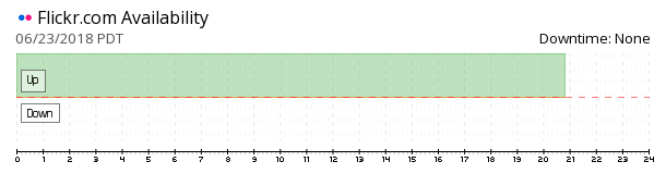 Flickr availability chart