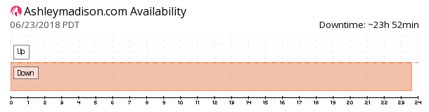 AshleyMadison availability chart