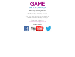 Game.co.uk outage screenshot taken on 05/02/2016 14:07:21