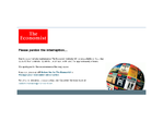 The Economist outage screenshot taken on 04/11/2015 01:31:57