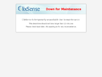Clixsense outage screenshot taken on 12/17/2016 20:50:55