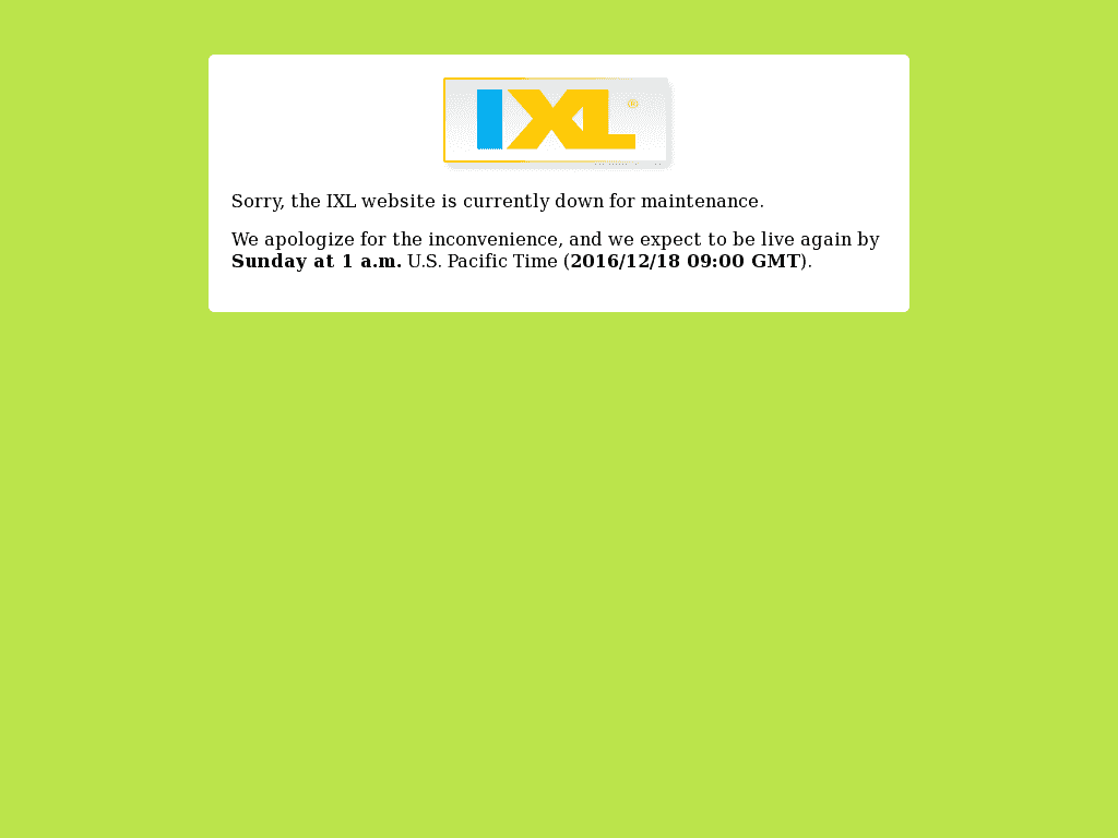 IXL Learning down? Current status and outage history