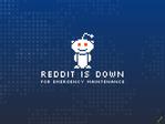 Reddit outage screenshot taken on 12/20/2016 20:01:04