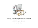 Reddit outage screenshot taken on 04/03/2017 09:31:38