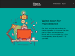 iStockphoto outage screenshot taken on 08/18/2017 18:50:48
