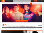 SoundCloud outage screenshot taken on 10/30/2014 12:19:16