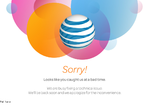 AT&T outage screenshot taken on 12/08/2015 12:40:34