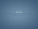 Tumblr outage screenshot taken on 09/03/2014 14:00:31