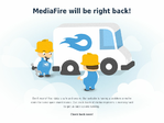 MediaFire outage screenshot taken on 03/24/2015 10:47:00