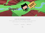 GitHub outage screenshot taken on 05/31/2017 05:37:03