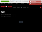 Rooster Teeth outage screenshot taken on 10/24/2016 15:22:16