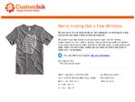 CustomInk outage screenshot taken on 12/19/2015 01:11:25