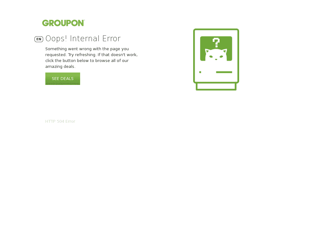 groupon work from home groupon down current status and outage history 9634